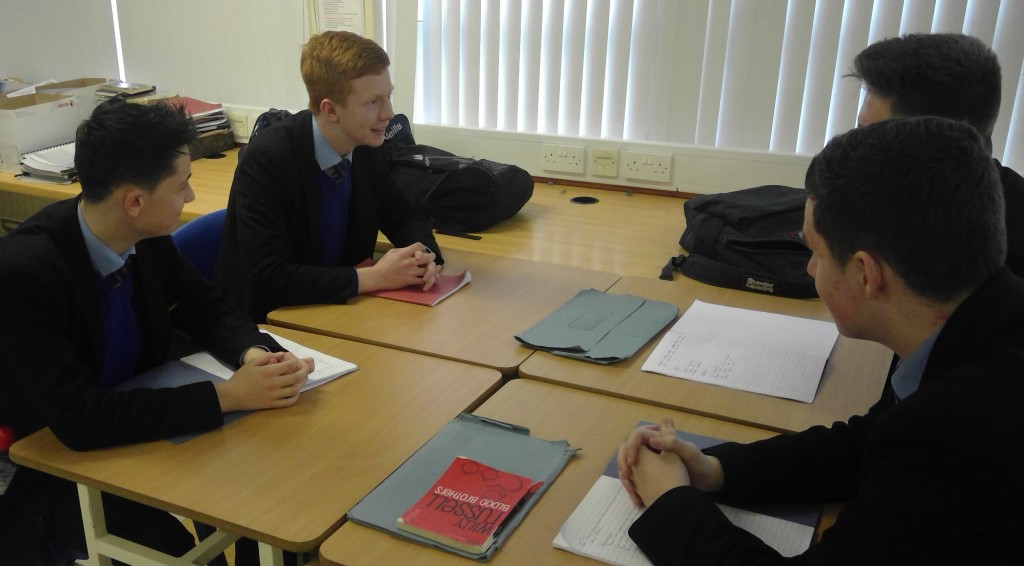 Year 12 Group discussion