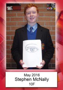 Stephen McNally 10F May