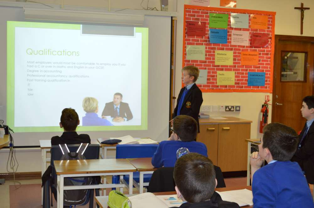 Year 8 Employment Presentations