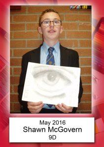 Shawn McGovern 9D May
