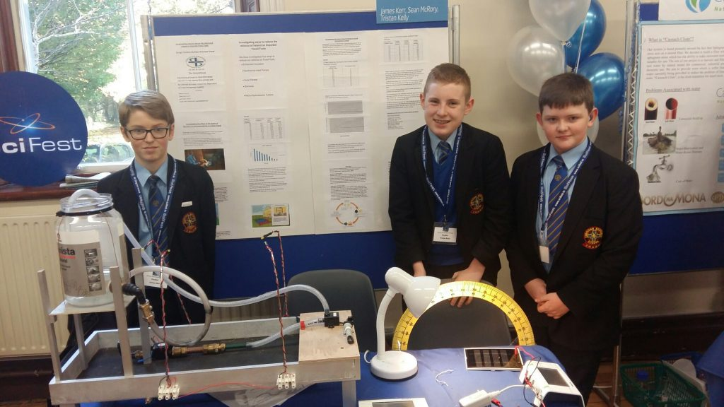 Omagh CBS SciFest winners