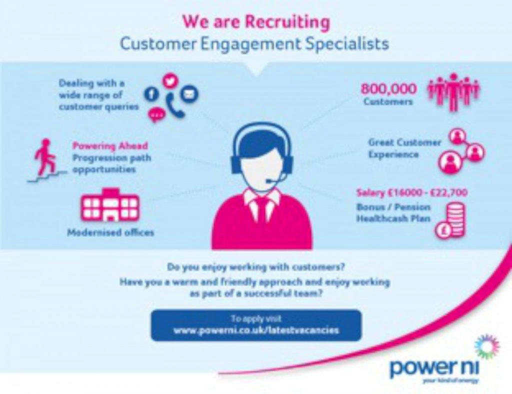 Power NI Recruiting in Omagh Office