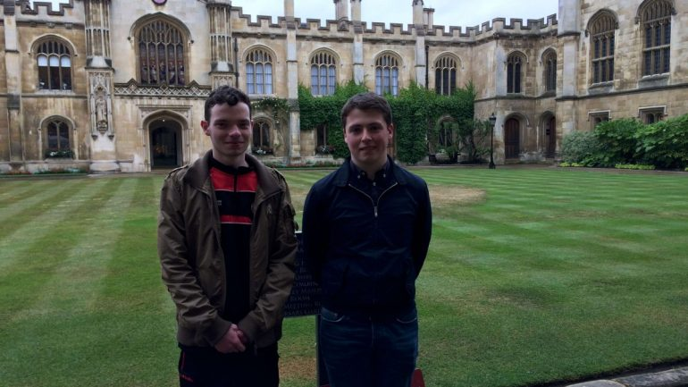 Anthony & Adrian at Corpus Christi College-3200