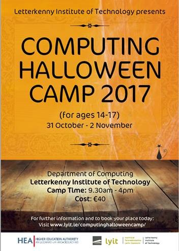 LYIT Computing Halloween Camp 2017