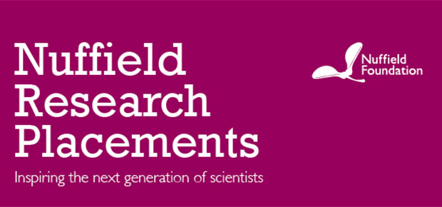 Nuffield Research placement