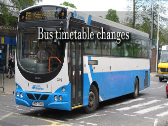 bus changes news