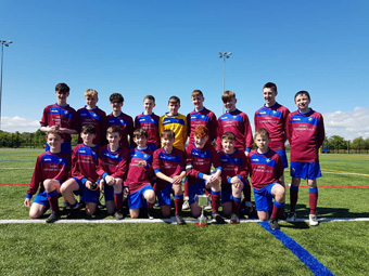 u13 NI cup winners news
